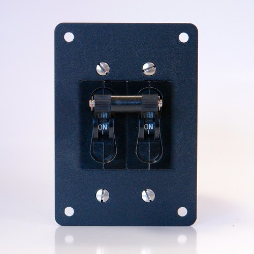 Carling CA2 Circuit Breaker Panel Mounted . 60 Amp with 5 Amp Aux