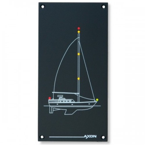 Axon Marine LED Boat Mimic Panel - Yacht (Large) 24 Volts DC