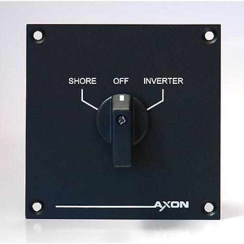 Shore to Inverter Switch-Over Panel - 30 amps - Boat, Marine