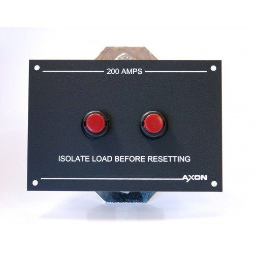High Amperage Circuit Breaker Panel - for Winch, Bowthruster - Marine