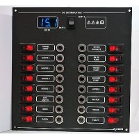 DC Switch/Circuit Breaker Panel