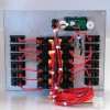 16 Way Illuminated Mini-Switch Circuit Breaker Panel with Digital Voltmeter