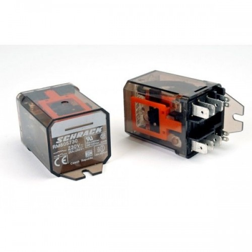 RM805730 - General Purpose Relay, RM8 Series, Power, Non Latching, DPDT, 230 VAC
