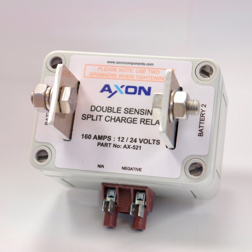 Double Sensing Split Charge Relay 12/24 Volts - Marine or Automotive