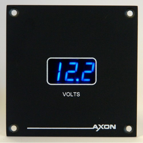 Axon Digital Voltmeter Panel 24 volts