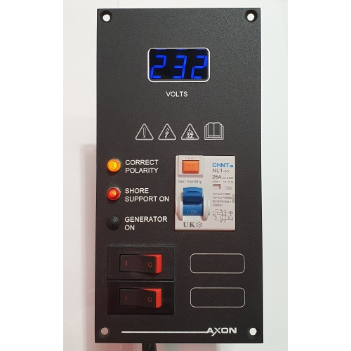 2 Way AC M Series Breaker Panel With Voltmeter and RCD