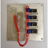 4 Way Switchable Circuit Breaker Panel (4x8a)