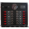 12 Way Illuminated Mini-Switch Circuit Breaker Panel with 12v  Volvo Voltmeter