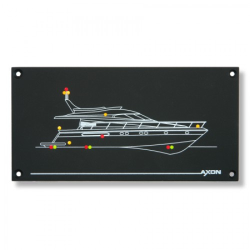 12v LED Boat Mimic Panel - Motorboat / Large