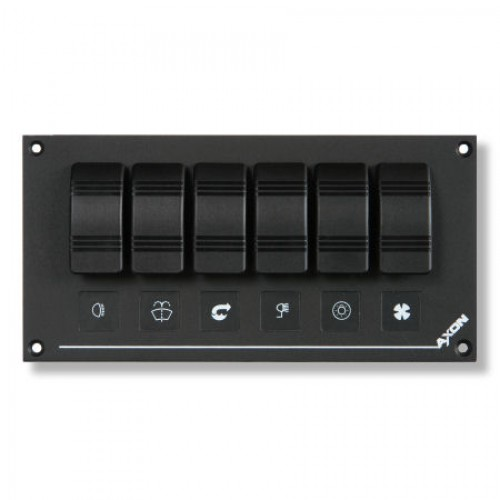 6 Way Switch Panel